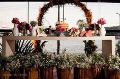 Casamento, decoração, flores