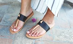 Travel Blog - Capri | Marianna Hewitt Life With Me Blog | Splendid Black and Tan Leather Sandals
