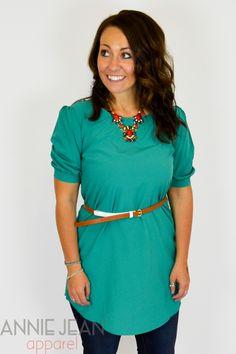 Jade Short Sleeve Tunic