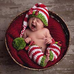 Christmas Newborn Photo Prop