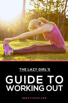 fitness + workout tips for lazy girl's