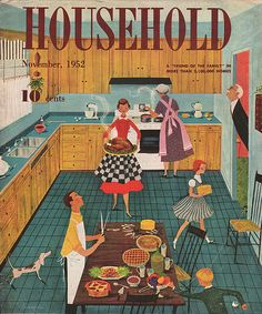Family Kitchen 1952
