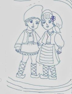 1 Decembrie, Flower Designs, Folk, Costumes, Traditional, Drawings, School, Moldova, Artwork
