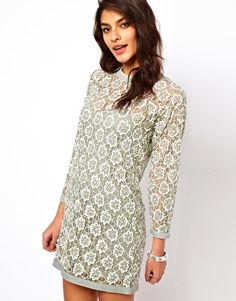 Enlarge ASOS Heavily Embellished Shift Dress