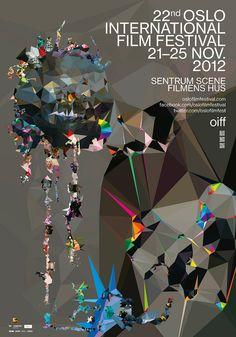 Oslo International FIlm Festival Poster - Halvor Bodin #iFF #imsoindie