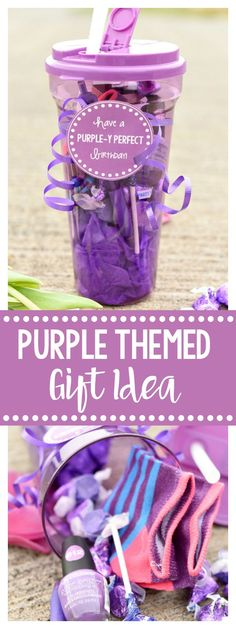 Purple Gift Idea for