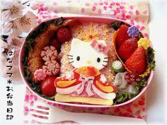 Hello kitty Hinamatsuri doll bento