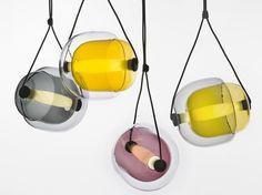 Lampada a sospensione fatta a mano CAPSULA by BROKIS s.r.o. | design Lucie Koldova
