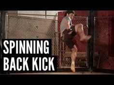 ▶ MMA Surge - The Spinning Back Kick - YouTube