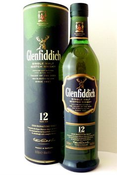 Glenfiddich   12 year old - not too bad!!!
