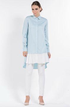"""Senna Design Cotton Gömlek 2635 Mavi Sitemize """"Senna Design Cotton Gömlek 2635 Mavi"""" tesettür elbise eklenmiştir. https://www.yenitesetturmodelleri.com/yeni-tesettur-modelleri-senna-design-cotton-gomlek-2635-mavi/"""