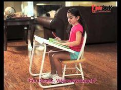 Table mate 2 is really superb!!!.... flexible to any kind of work.. is a multipurpose portable table. You can use it for eating, as a laptop table, study desk, reading, writing, drawing, arts and crafts, board games, as outdoor tray table, trade shows, gardening, patio tray table, serving table, ... or for any other purpose!..visit: http://www.tbuy.in/tablemate-2.html youtube :https://www.youtube.com/watch?v=pyfzXam055U