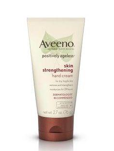 Pammy Blogs Beauty: Fab Fast Friday: Aveeno's Positively Ageless Skin Strengthening Hand Cream