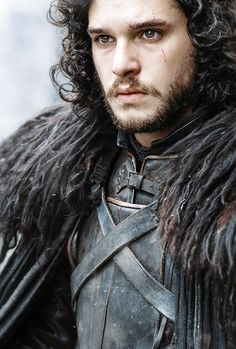 Jon Snow | Game of Thrones /He's gorgeous, kind, loyal, trustworthy, a born leader and he's a super bad ass!!! Love this character!!!