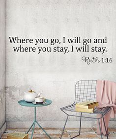 Look what I found on #zulily! 'Where You Go' Wall Decal #zulilyfinds