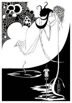 Aubrey Beardsley - The Climax (1894)