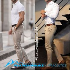 Mens Fashion Smart – The World of Mens Fashion Mode Masculine, Casual Mode, Men Casual, Smart Casual Man, Smart Casual Menswear, Casual Wear, Mode Outfits, Casual Outfits, Mode Man