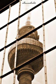 Fernsehturm von AllesUndLicht auf DaWanda.com