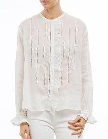 AMOS Blusa ml bordada ramio blanco ISABEL MARANT --- Colección Primavera/Verano 2017