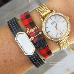 Our new Holiday Line launch TODAY has me just drooling! I am loving this new Buffalo Plaid keeper and AHHH, these new multi strand bracelets and neckalces!! This new Pave Time Key...so pretty! KEEP Collective www.keep-collective.com/with/ericao