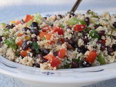 Couscous and Black Bean Salad