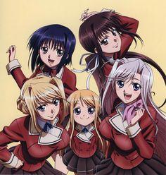 Sylvia, Maria, Charlotte, Yuu & Seika ~ Princess Lover