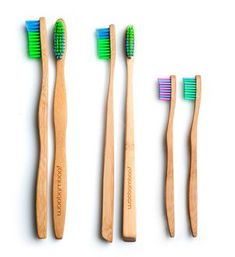 Organic Bamboo Toothbrush - Adult + Kid Sizes – BeHomeWell
