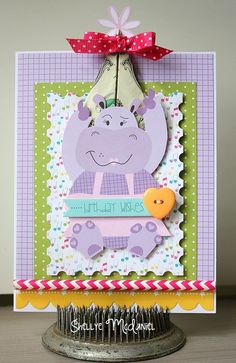 Papered Cottage, Birthday wishes money card, so cute!
