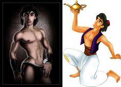 Sexy Disney Heroes - Aladdin by davidkawena
