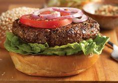 Burger Recipe | Mrs. Dash | Recipes | Mrs. Dash weight watcher, mrs dash recipes, food, burger recipes, burgers, low sodium, sodium recip, healthi recip, american burger