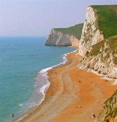 Jurassic Coast - East Devon to Dorset, south coast of England.