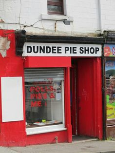 Dundee Pie Shop, Hilltown, Dundee (2011) pic: william Whiskey Tour, Clan Macleod, Scotland Vacation, Great Scott, Pie Shop, Outer Hebrides, England, St Andrews, Dundee