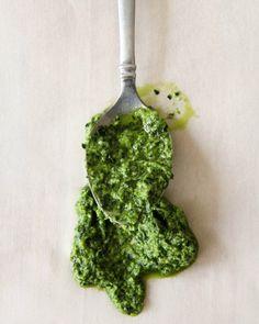 Kale + Mint + Cashew Pesto