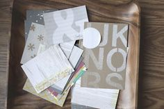 Tutorial on making journaling cards with mister huey's color mists + stamps from @Tina Aszmus