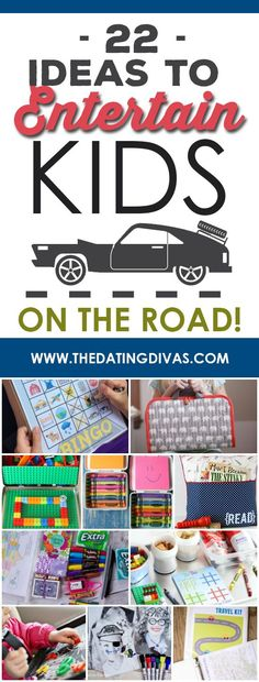 Entertaining kids in the car just got easier with these fun travel hacks! www.TheDatingDivas.com