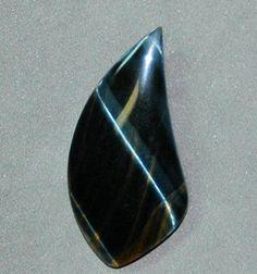 Gaddabout Rock Creations - Variegated Tiger Eye Cabochon 3498, $17.95 (http://stores.gaddaboutrockcreations.com/variegated-tiger-eye-cabochon-3498/)