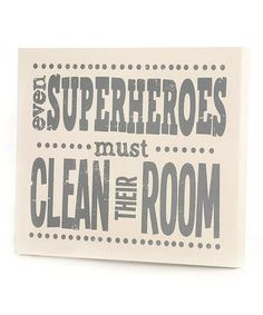 SuperHero Room Wall Art (Photo Only, No Link)