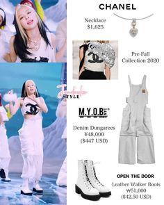 Korean Fashion Dress, Blackpink Fashion, Korean Street Fashion, Kpop Fashion Outfits, Fashion Gallery, Korean Outfits, Lit Outfits, Stage Outfits, Dance Outfits