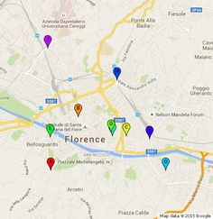 Sergio Malatesta - Google+  Here the map where you can find the best trippai in Florence !