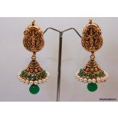lakshmi-studded-stone-gold-pearl-layered-jumka-green