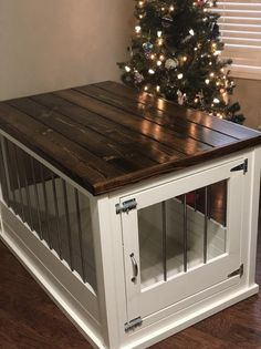 Good Free of Charge Single Large Dog Crate Furniture Thoughts A secure place fo. : Good Free of Charge Single Large Dog Crate Furniture Thoughts A secure place for your dog A dog kennel is a great choice to provide your dogs protected leave thro Crate Furniture Diy, Diy Litter Box, Crates, Crate End Tables, Crate Furniture, Crate Table, Dog Crate Furniture, Wood Dog Crate