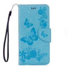 Butterfly Flip Leather Case For Samsung Galaxy S7 S6 Edge S5 Mini Funda Multifunction Card Slot
