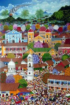 Special day in Granada – Arte Primitivista