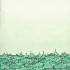 Green Waves by a is for anika, via Flickr