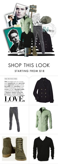"""The Bohemian Man"" by matildaaah ❤ liked on Polyvore featuring Joseph, TheLees, n.d.c., SELECTED and Dolce&Gabbana"