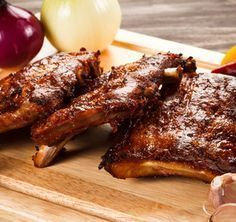 Barbecue Rib Recipes - Beef Ribs, Baby Back, Country, & Pork Ribs Braai Recipes, Smoker Recipes, Rib Recipes, Recipes Dinner, Pork Rib Marinade, Pork Ribs, Ribs On Grill, Barbecue Ribs, Fried Chicken Recipes