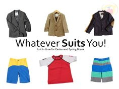 We've got the suits you need for Spring at Torly Kid.