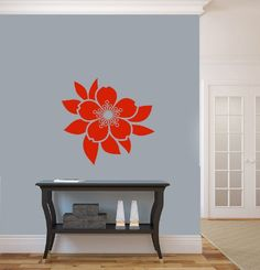 Housewares Vinyl Decal Flower and Leaf Floral Pattern Home Wall Art Decor Removable Stylish Sticker Mural Unique Design for Room Decal House http://www.amazon.com/dp/B00F4U2AHC/ref=cm_sw_r_pi_dp_CkOUtb002MPQPCHR