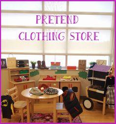Pre-K Tweets: Clothing Store