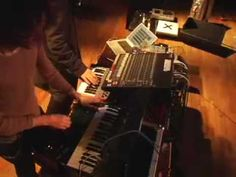 Funky as .... 'When I Come Back Around' - Jamie Lidell.    Jamie Lidell exhibits his looping skills with Snax on the Korg MS20. Recorded at a sound check in Kansas when Snax and Jamie were touring the US back in 2006.
